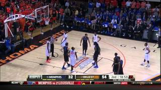 #11 Memphis @ #7 Oklahoma State 11-19-13 (Full Game)