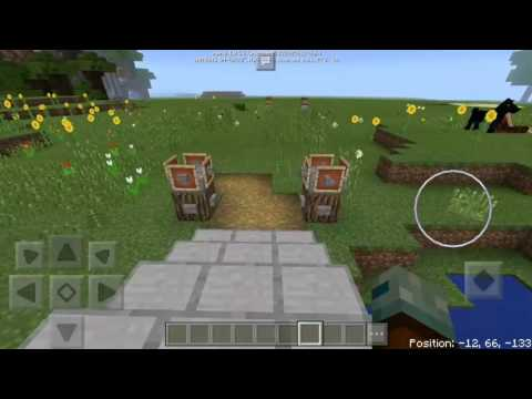 Animated Self-Building House Preview - MCPE Map