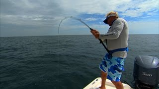 Big Game Fishing for Goliath Grouper off Port Canaveral Florida