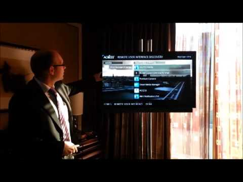 ACCESS DLNA CVP-2 Demo at CES 2014