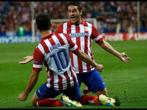 Malaga vs Atletico Madrid 0-1 ( 04.01.14 All Goals and Highlights)