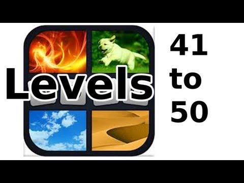 4 Pics 1 Word - Level 41 to 50 - Walkthrough