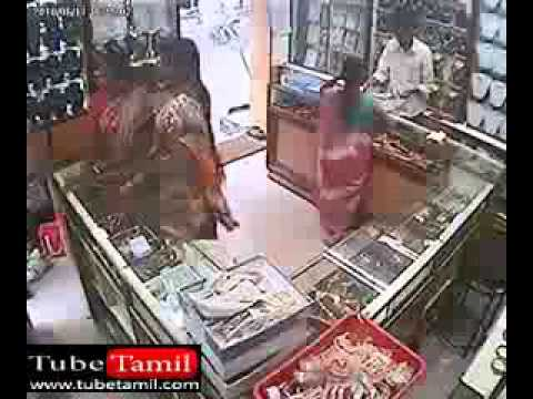 Tamil ladies robbery in jewellery chennai India Shop