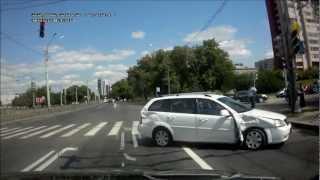 Подборка ДТП с видеорегистраторов 53 \ Car Crash compilation 53
