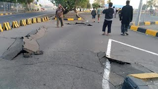 شاهد: زلزال لومبوك في إندونيسيا يخلف تصدعات أرضية عميقة…   |   قنوات أخرى