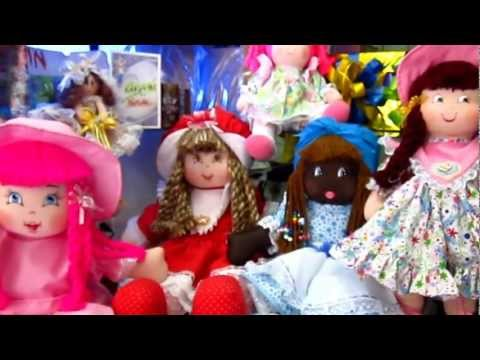 Muñecas de trapo lindas