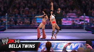 WWE 2K14 Community Showcase: Bella Twins (PlayStation 3