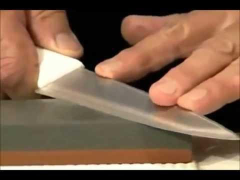Aprenda como afiar facas   PA Equipamentos