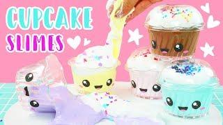 How to Make Kawaii Cupcake Scented Fluffy Slime! 💕