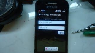 Samsung Galaxy Ace S5830i Hard Reset