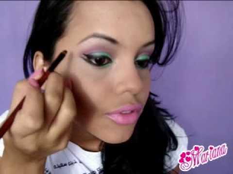 Maquiagem barbie morena