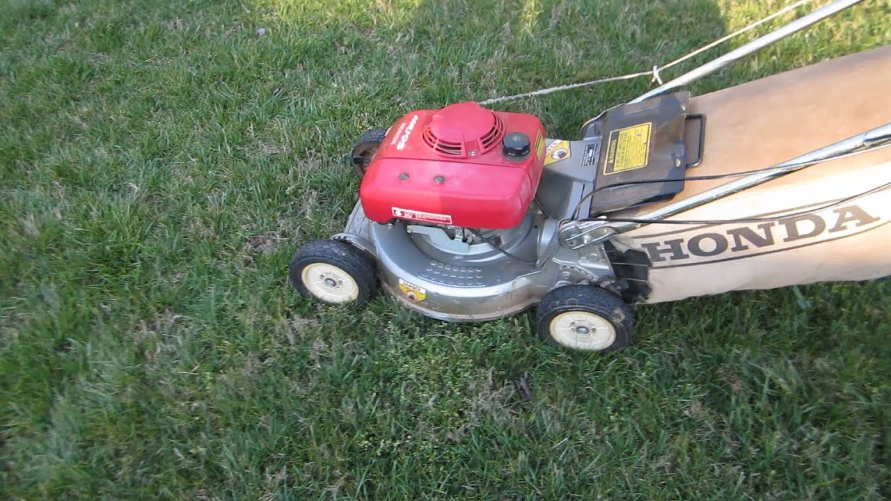 Lawn Mower Repair You Honda