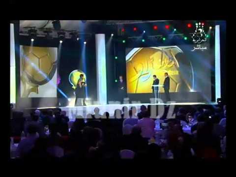 Zanetti et Rivaldo offrent Ballon d'Or algérien 2013 à islam Slimani