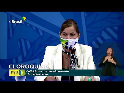 27/05/2020 - Definido novo protocolo para uso do cloroquina
