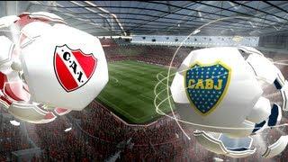 FIFA 13 Independiente Vs Boca Torneo Final 30/04/13