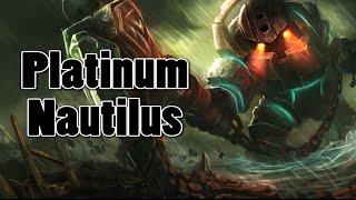 League of Legends - (Tipsy) Platinum Nautilus 4