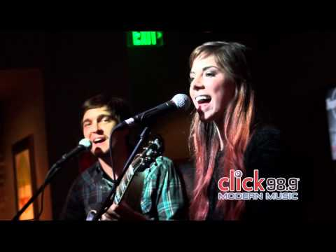 Click 98.9 Acoustic Lounge: Christina Perri - Be My Forever