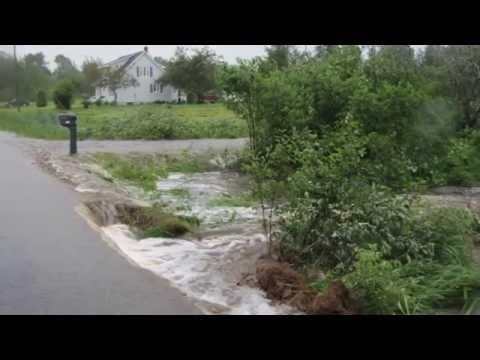 Hurricane Arthur New Brunswick Miramichi