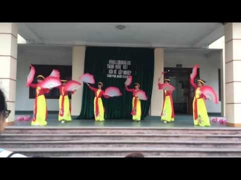 Cover múa Hồn quê - 10A3 THPT Cửa Ông🎊🎊