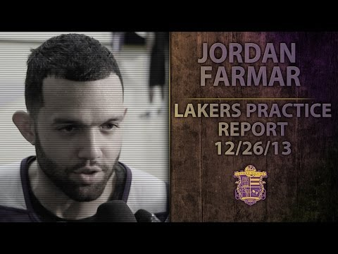 Lakers Practice: Jordan Farmar On First Game Back From Injury And Ryan Kelly, Guarding LeBron James