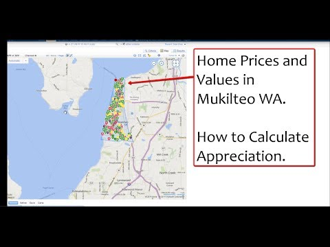 Mukilteo Home Prices and Values Calculating Appreciation in Harbor Pointe
