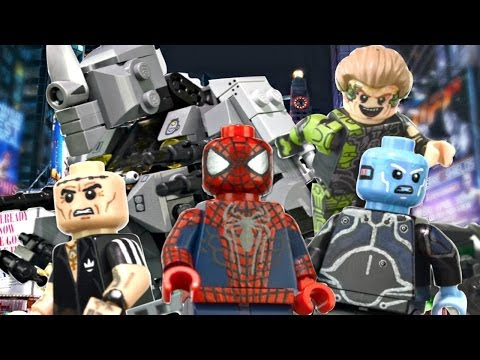 LEGO Marvel : The Amazing Spider-Man 2 Minifigures - Showcase