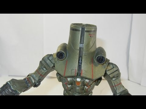 Neca Cherno Alpha  Jaegar figure review