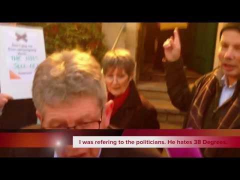 Gagging Law Protest Bath (Don Foster MP) 6/12/2013