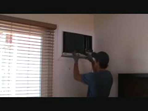 Removing A Wall Mount Ac Unit Insert Youtube