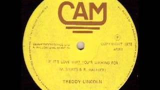 Treddy Lincoln - If It's Love That You're Looking For