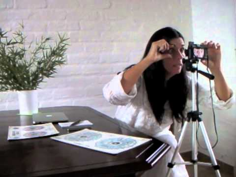 How to Take Iris Photos with a Digital Camera for Iridology by Skype