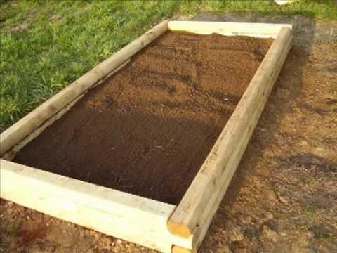 Raised Garden Beds Made From Landscape Timbers u2013 izvipi.com