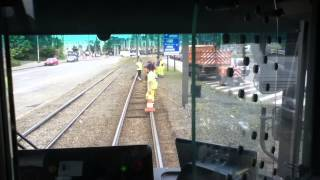 Repară o linie importantă de tramvai la oră de vârf (8:30h)