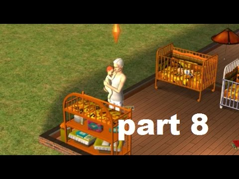 Let's Play The Sims 2 Prettacy Part 8 (Boyfriend's Hijinks and A Happy Accident Part 1 of 2)