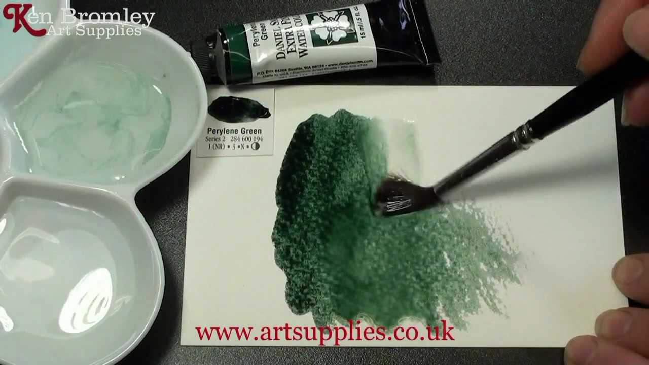 how to make perylene green