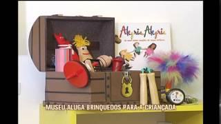 Museu aluga brinquedos para crian�as em Belo Horizonte
