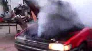 Corolla 2e Engine Blow Up