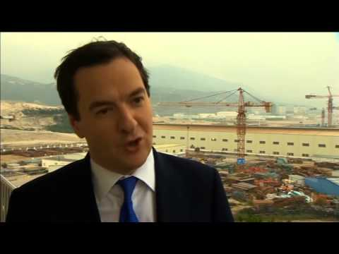 George Osborne opens door to Chinese investment in UK nuclear power