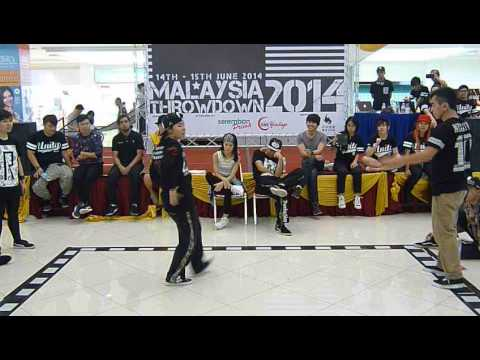 Malaysia Throwdown 2014 - All Style Top 4 - Wong Vi Vien vs PoppinRex
