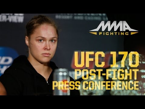 UFC 170 Post-Fight Press Conference Video