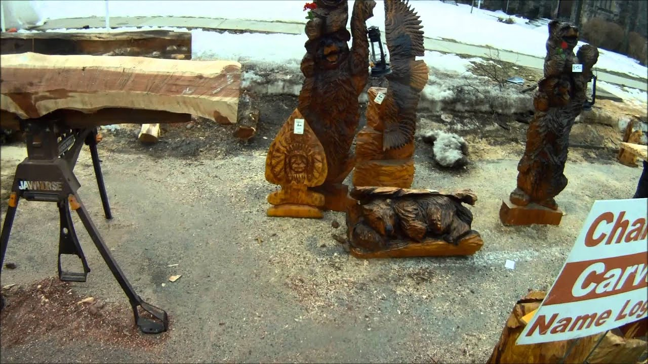 Ridgway chainsaw carvers rendezvous youtube
