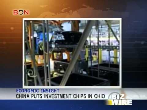 China puts investment chips in Ohio - Biz Wire - January 16,2013 - BONTV China