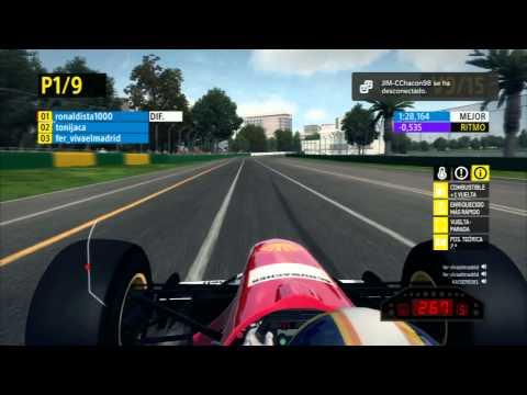 Ferrari F310 | Carrera completa al 25% Melboune | F1 Friends Cup