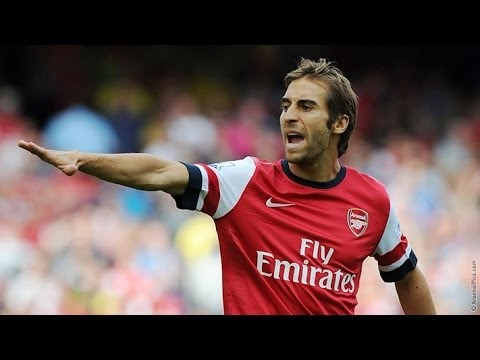 Mathieu Flamini vs Tottenham 01.09.2013