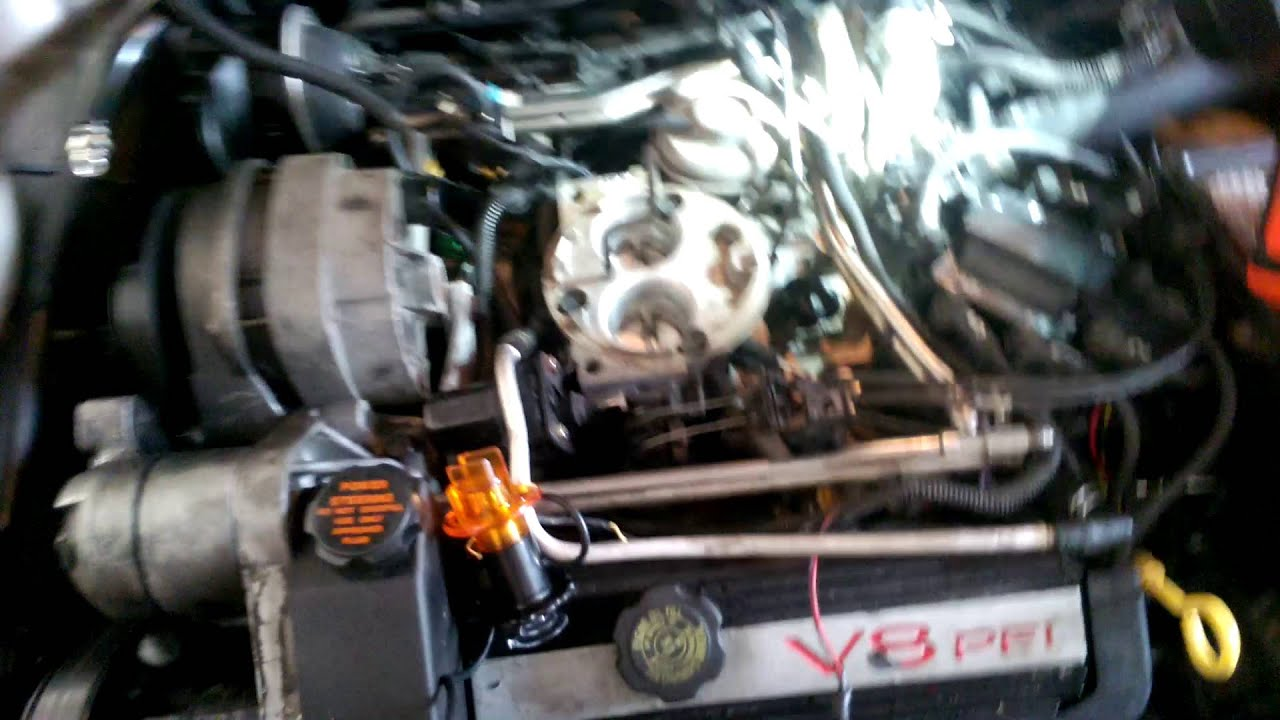 92 4 9 Cadillac Deville Engine Miss  Testing Fuel Injector