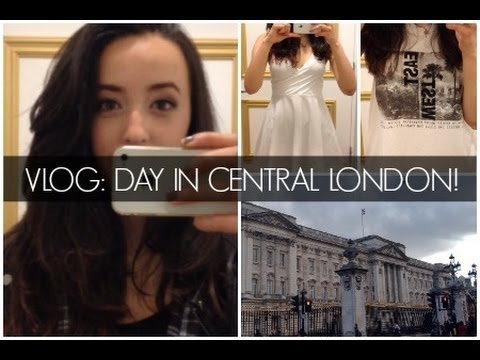 VLOG: Shopping in Central London!