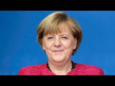 Angela Merkel asks Germany for 'four more years' ahead of election - video