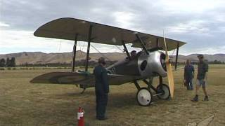 Engine: Gnome Rotary In Sopwith Camel