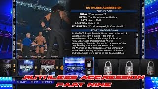 WWE 2K14 30 Years Of WrestleMania Ruthless Aggression