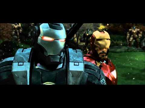 Iron Man 2 Drone Fight Scene 1080p HD,